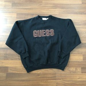 Vintage guess sweatshirt size small